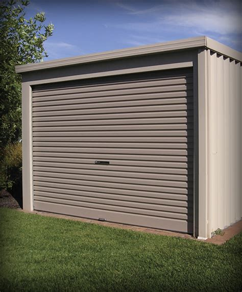 Flat Shed by Flat Garage Schefe Builders
