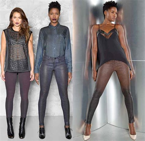 are colored jeans in style for 2015 cj by cookie johnson 2014 2015 fall winter womens lookbook