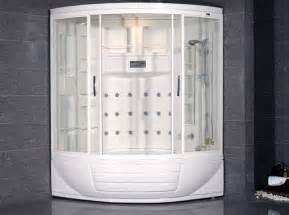steam shower whirlpool tub combo
