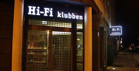 hifi klubben hamburg reklamestasjonen hifi klubben fasadeskilt
