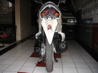 Batok Kepala Nouvo by New Car Modification Mio Putih Mutiara