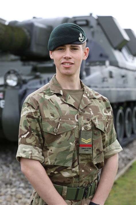 junior soldier  exeter passes   military