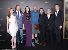 House M D Cast by Caitriona Balfe Steals The Spotlight In A Sheer Purple