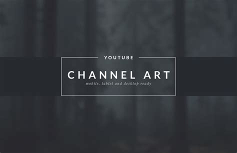 Youtube Channel Art Templates Medialoot Channel Template