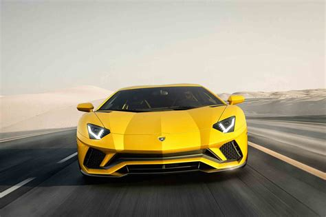 first lamborghini aventador first look 2017 lamborghini aventador s automobile magazine