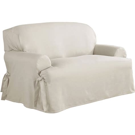 slipcover loveseat t cushion sure fit t cushion sofa slipcover home design ideas and