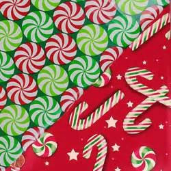 Cellophane Gift Wrap Rolls - christmas candy pattern gift wrapping paper