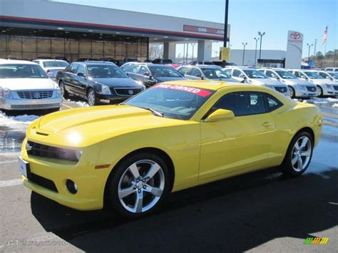 2010 camaro ss colors 2010 rally yellow chevrolet camaro ss coupe 45281659