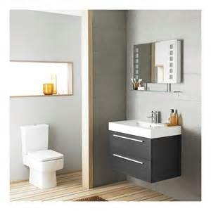 meuble lavabo suspendu 80x60x48cm rf037 salle de bain wc