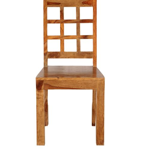 La Paz Dining Chair In Natural Mango Wood Finish By Mango Wood Dining Chairs