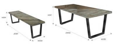 standard dining room table size for well dining room