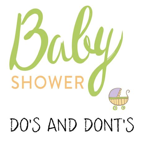 Etiquette On Baby Showers by Baby Shower Etiquette Dos And Donts