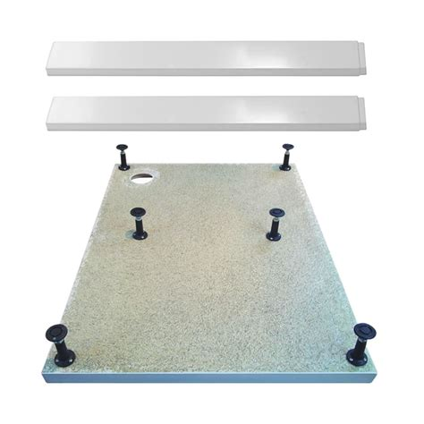 Easy Plumb Shower Tray Kit by Shower Tray Easy Plumb Riser Kit Legs Panels Various