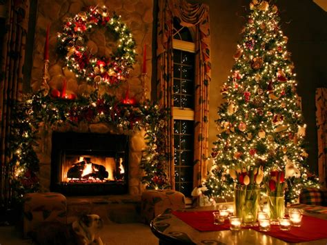 christmas fireplace  ideas