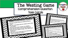 Novel The Westing the westing guidelines for character descriptions fo