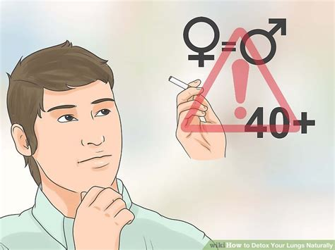 How To Detox Your From Cigarettes by Expert Advice On How To Detox Your Lungs Naturally Wikihow
