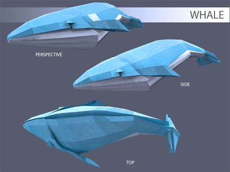 How To Make Paper Whale - riusaga origami whale