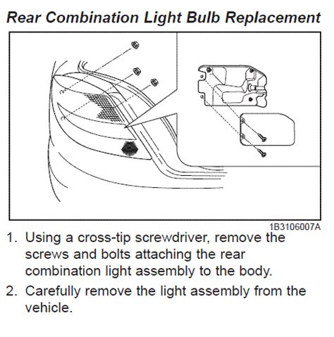 How To Change Brake Light Bulb by 2004 Kia Replace Brake Light Bulb