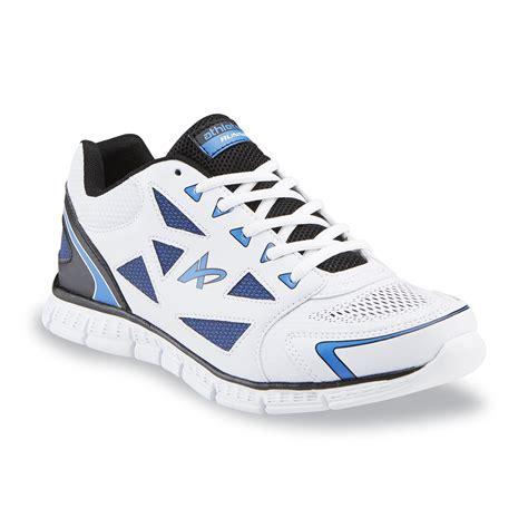 Kmart Gift Card Selection - athletech men s sprint white blue black running shoe sears