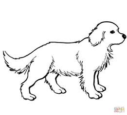 puppy outline coloring kids coloring