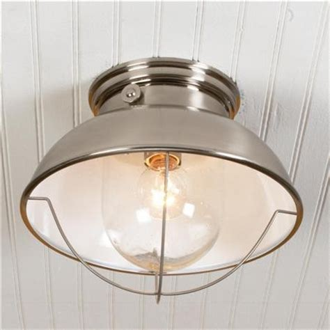 laundry room ceiling lights nantucket ceiling light brushed stainless finish