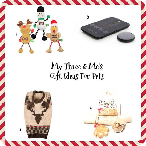 christmas gifts ideas for pets my three and me