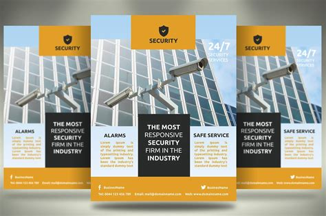 security company flyer sb flyer templates creative