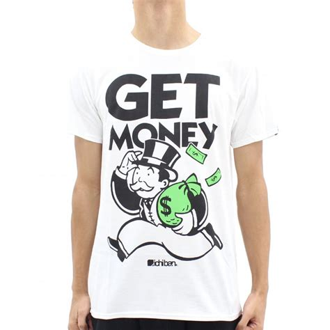 Where To Get Shirts Ichiban Get Money 2014 T Shirt White Ichiban From