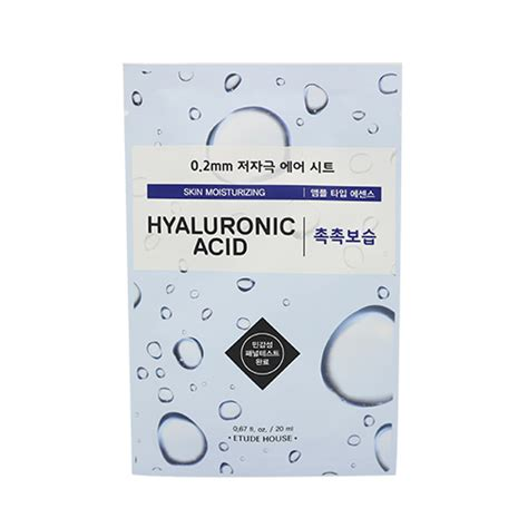 Etude House 0 2mm Therapy Air Mask Sheet Kecantikan Wanita korean skincare and makeup in the philippines
