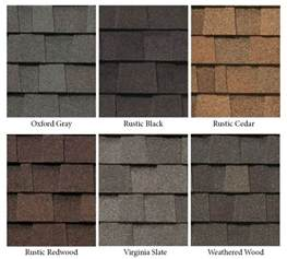 roofing shingles colors asphalt shingles asphalt shingle colors