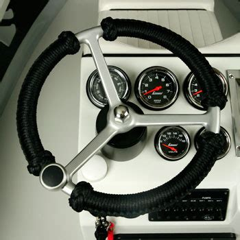 boat steering wheel rope wrap hell s bay boatworks whipray available options