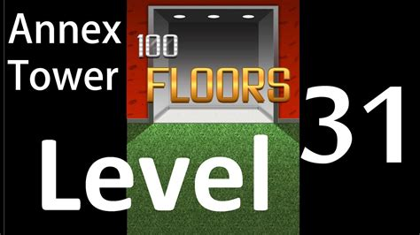 100 Floors Level 31 Annex Tower Solution Walkthrough