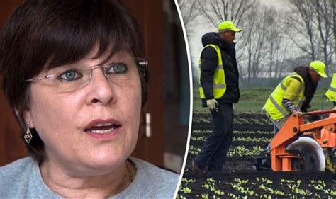 Angie Says Its by Eu Migrants Put Me Out Of Business Blasts Who Will