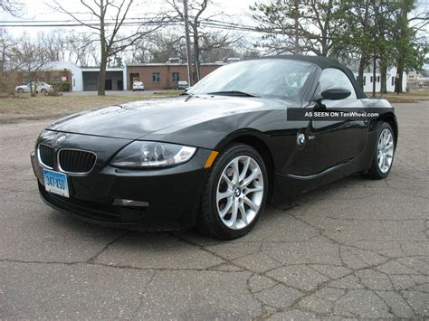 Bmw Coupe Convertible by 2006 Bmw Z4 Coupe Convertible