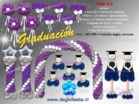 decoraciones de eventos de graduacin decoracion graduacion con globos
