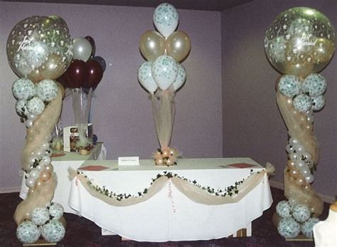 599 Best Balloon Wedding Parties Decors Decorations Balloons Centerpieces For Tables