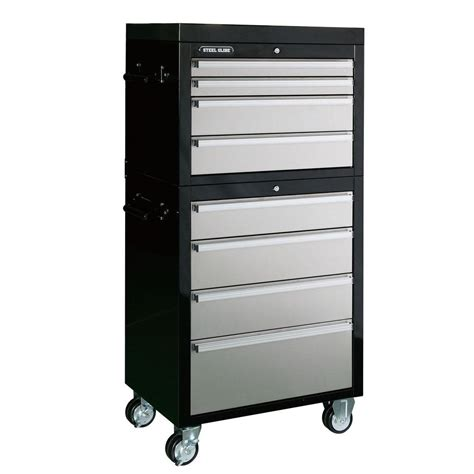 Husky 8 Drawer Tool Chest by Husky 27 In 8 Drawer Tool Chest And Cabinet Set H4ch1r