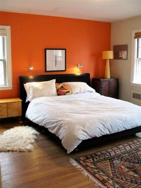 what color goes with orange walls what colour of furniture would best complement an orange
