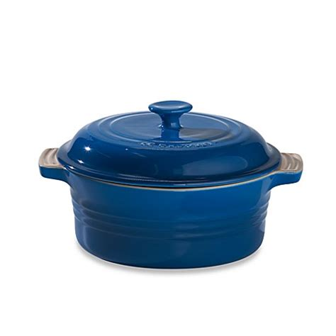 dutch oven bed bath and beyond buy le creuset 174 2 quart covered round casserole in