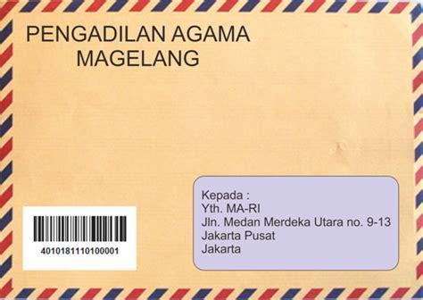 Surat Lamaran Ditujukan Kejaksaan Ri by Contoh Surat Lamaran Mahkamah Agung Ri Pengumuman Hasil