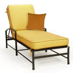 Outdoor Furniture Chaise Lounge San Michele Cast Aluminum Outdoor Chaise Lounge Family Leisure