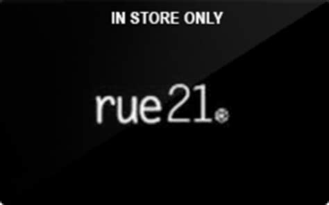 Check Gift Card Balance Rue 21 - sell rue21 in store only gift cards raise