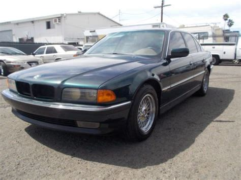 how make cars 1995 bmw 7 series electronic toll collection sell used 1995 bmw 740i no reserve in anaheim california united states