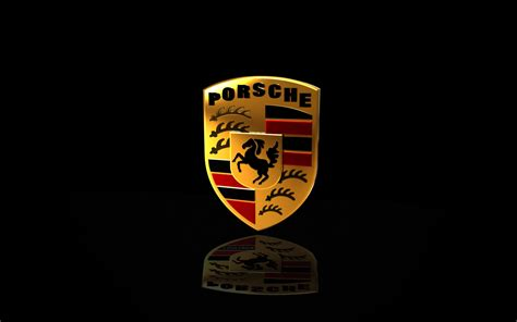 porsche logo black background porsche logo wallpapers pictures images