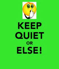 Wall Stickers Personalized keep quiet or else keep calm and carry on image generator