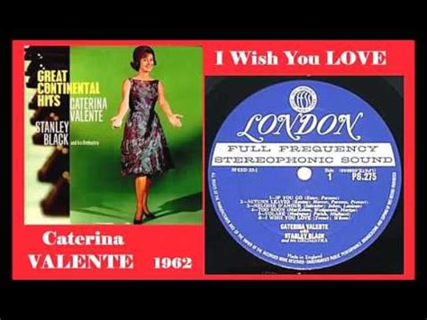 caterina valente i love you caterina valente with stanley black his orchestra i