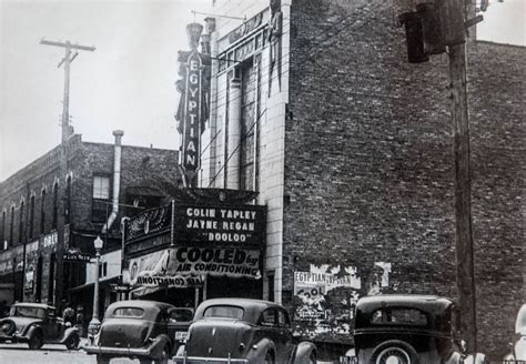 Historic Illinois From The Air an afterlife for dekalb s theatre archpaper