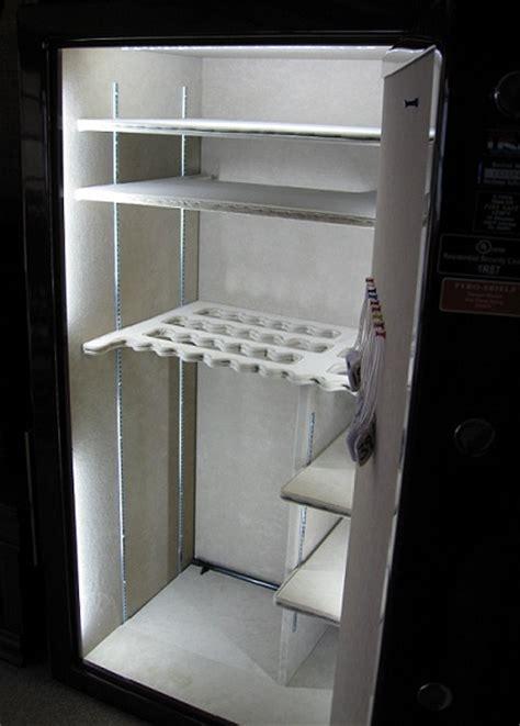executive 5 led gun safe light kit by light my safe lone