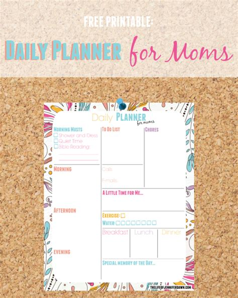 planner for moms printable free link party the creative circle week 48 blue i style
