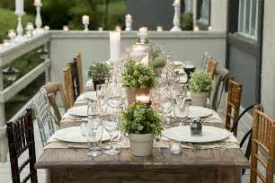 gallery for gt rustic dinner party table ideas